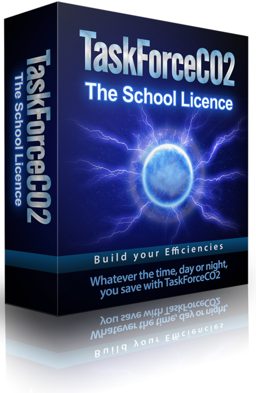 TaskForceCO2 PC Power Management Software School License Packaging